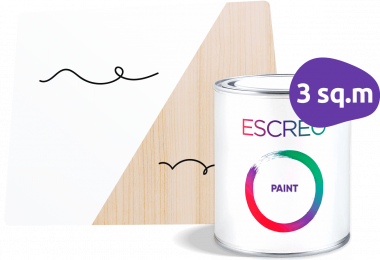 Whiteboard paint for home