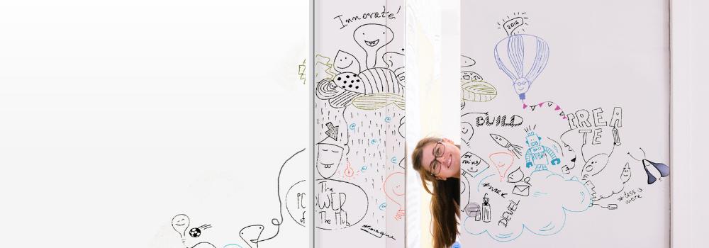 Whiteboard Writable Wall