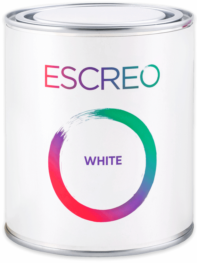 Escreo White Whiteboard Paint