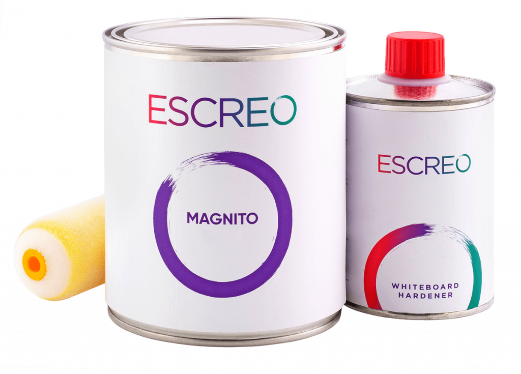 Magnetic Whiteboard paint