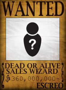 Wanted: Sales Wizard
