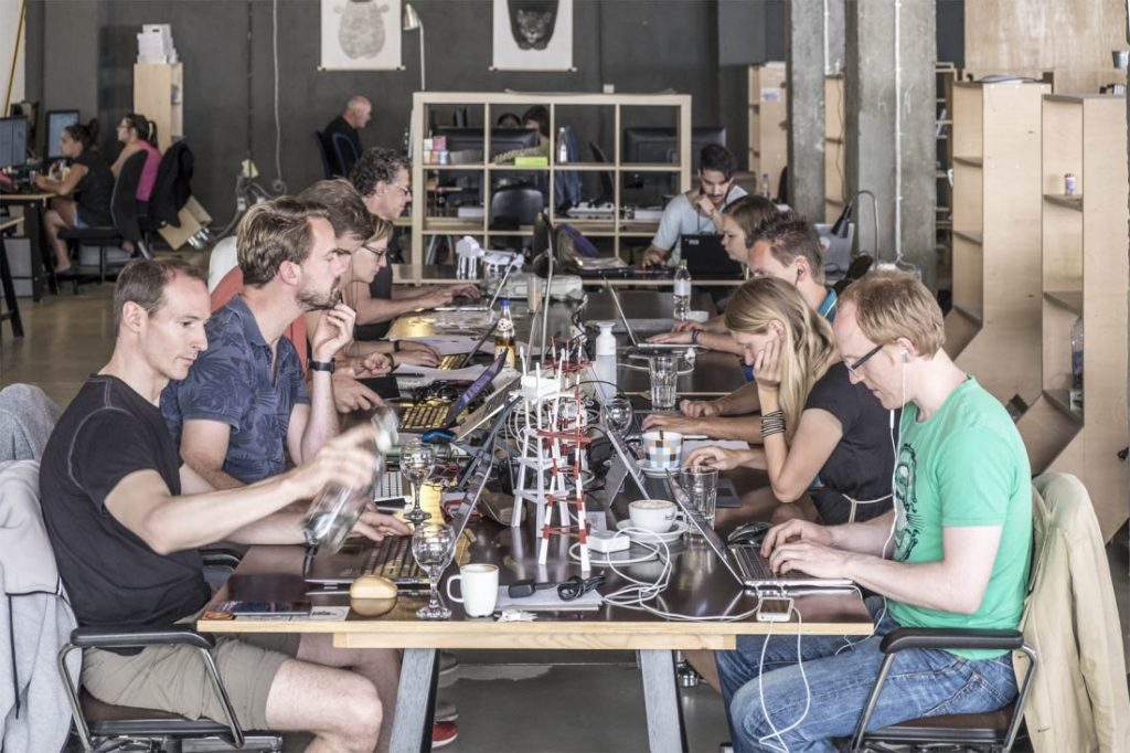 Coworking space versus the standard office