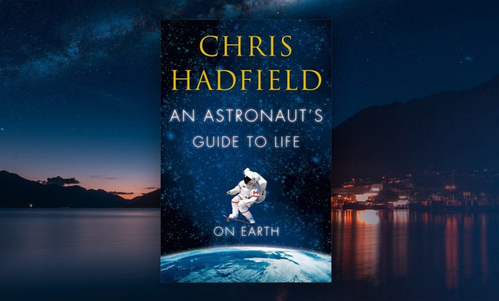 Book cover for Chris Hadfield