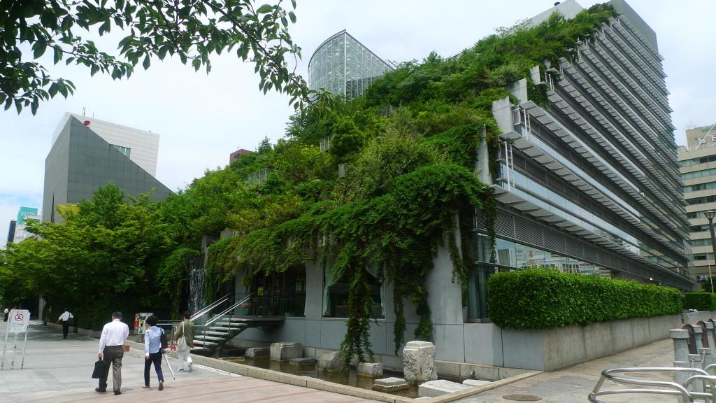 Висящите градини на Вавилон в Япония