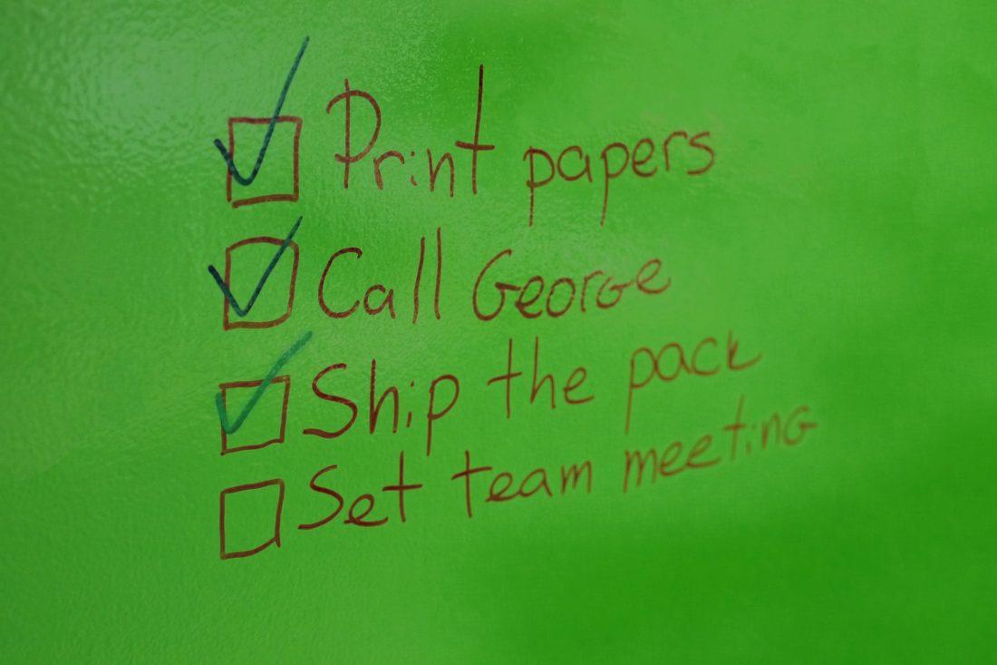Escreo tasks