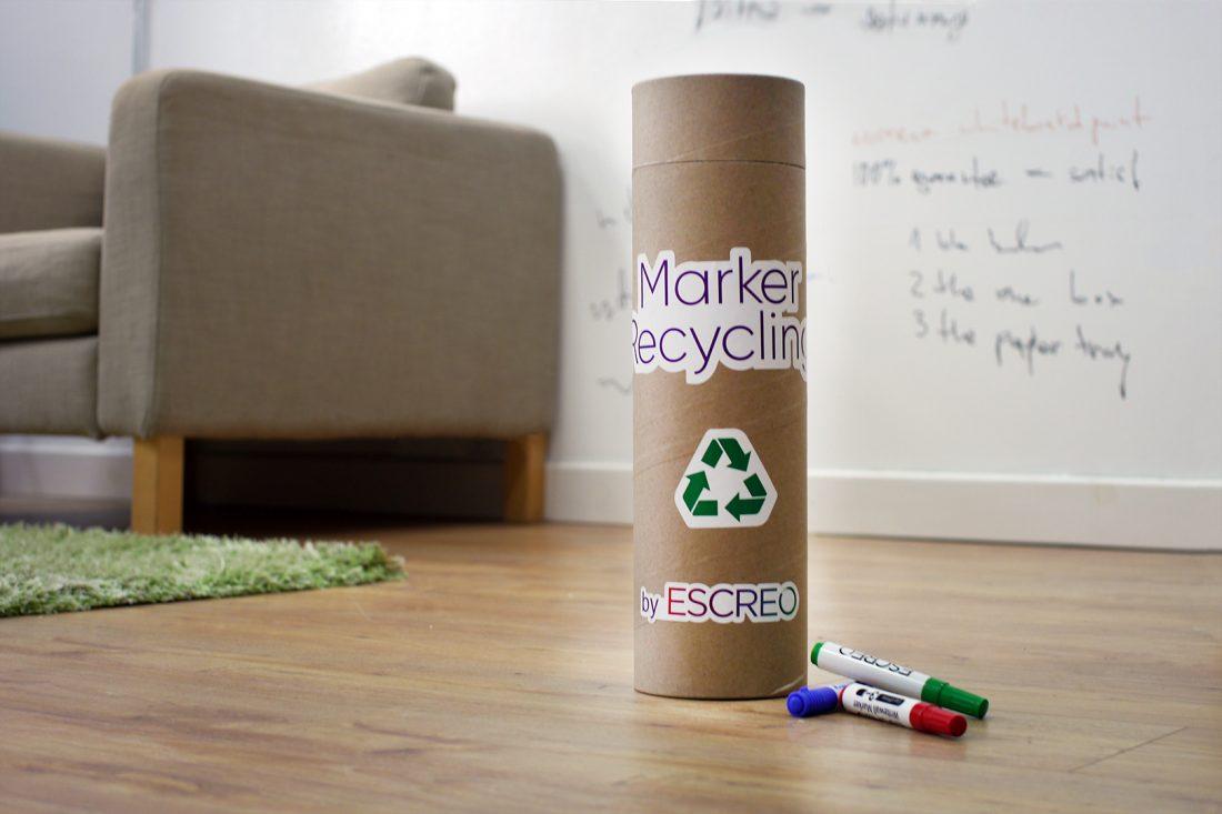 ESCREO кутия за рециклиране на маркери