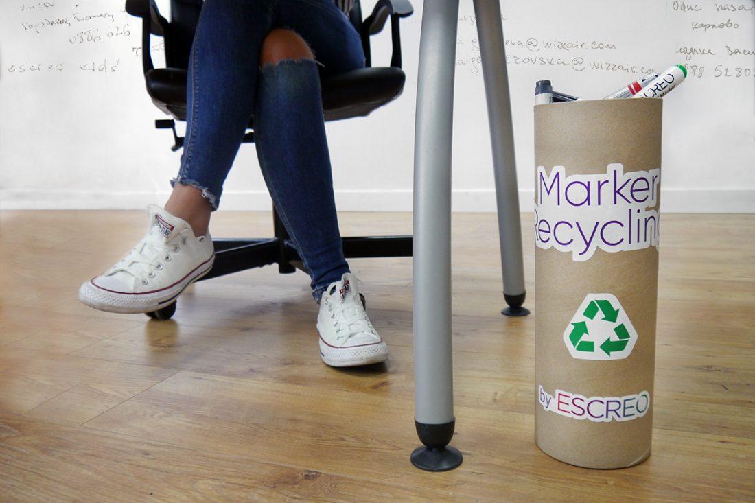 ESCREO recycling box