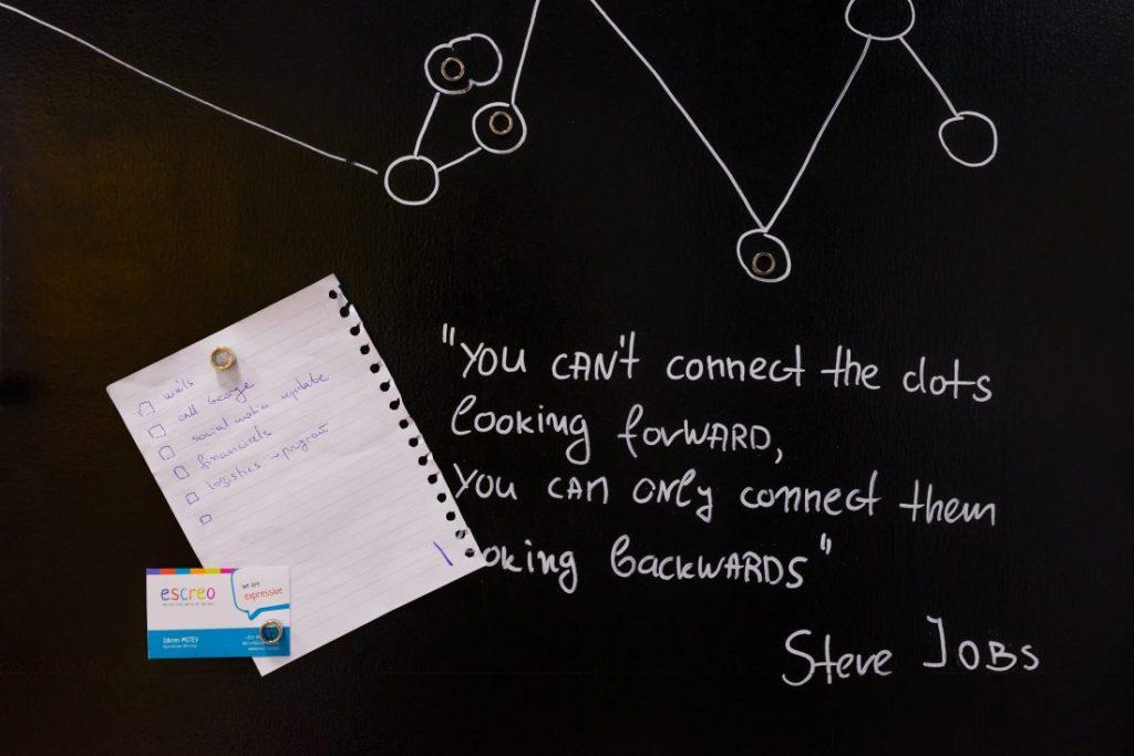 vopseaua magnetică whiteboard Escreo 1