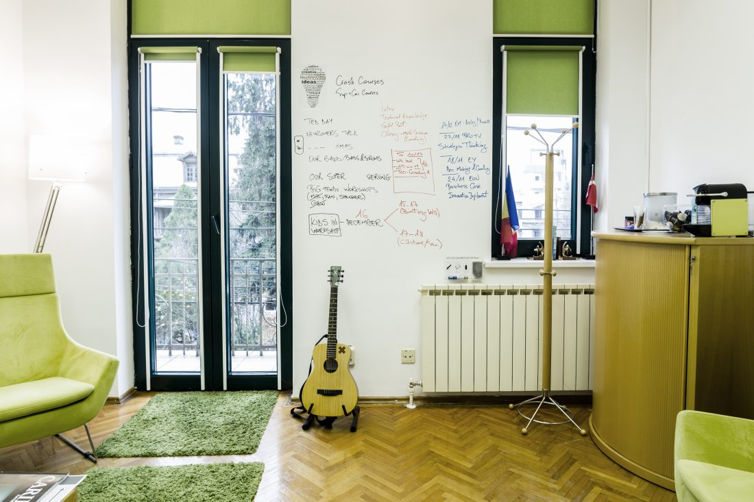 desen perete acasă