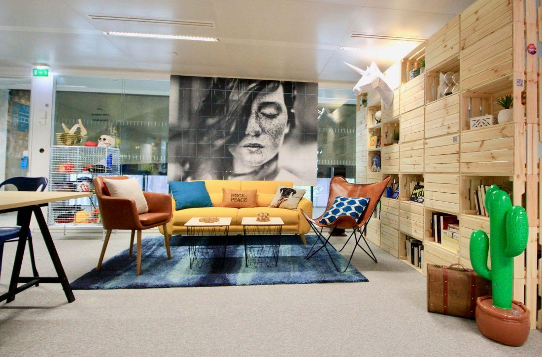 spaţiu creativ la birou