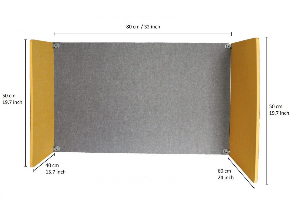 Размери на Acoustic Flip