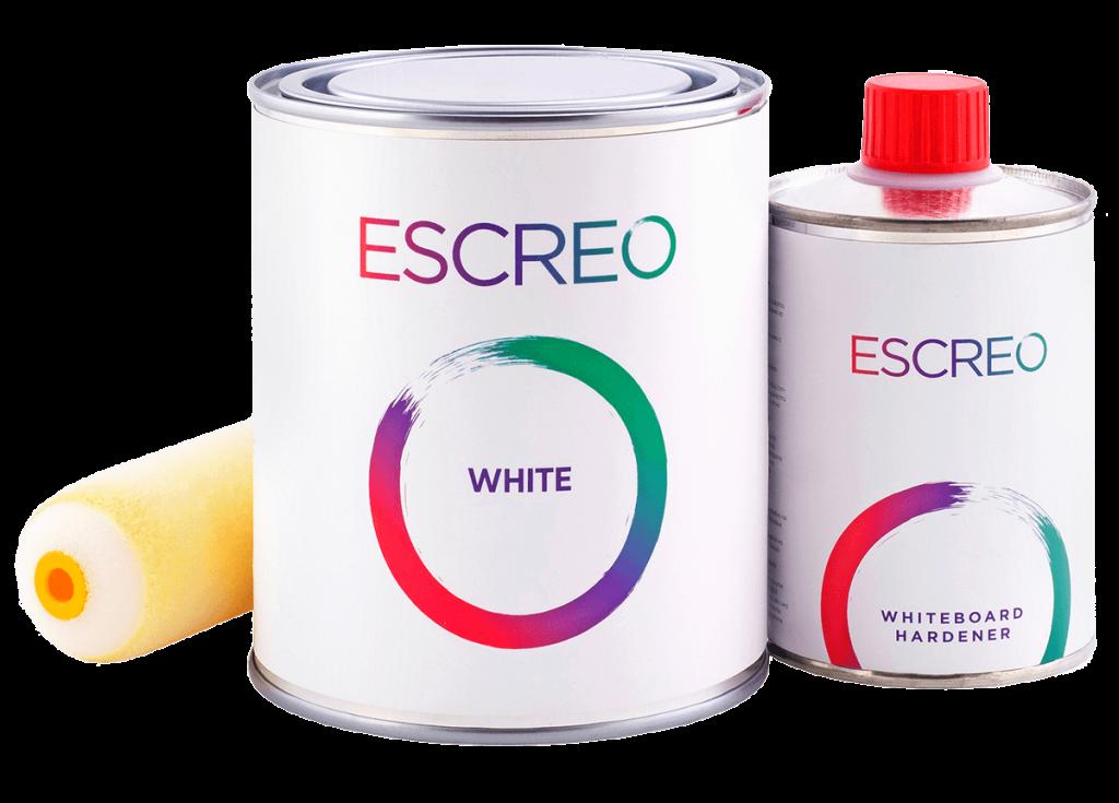 Vopsea albă Escreo Whiteboard
