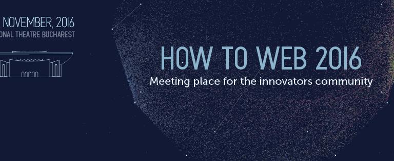 Alăturați-vă nouă la How to Web 2016!