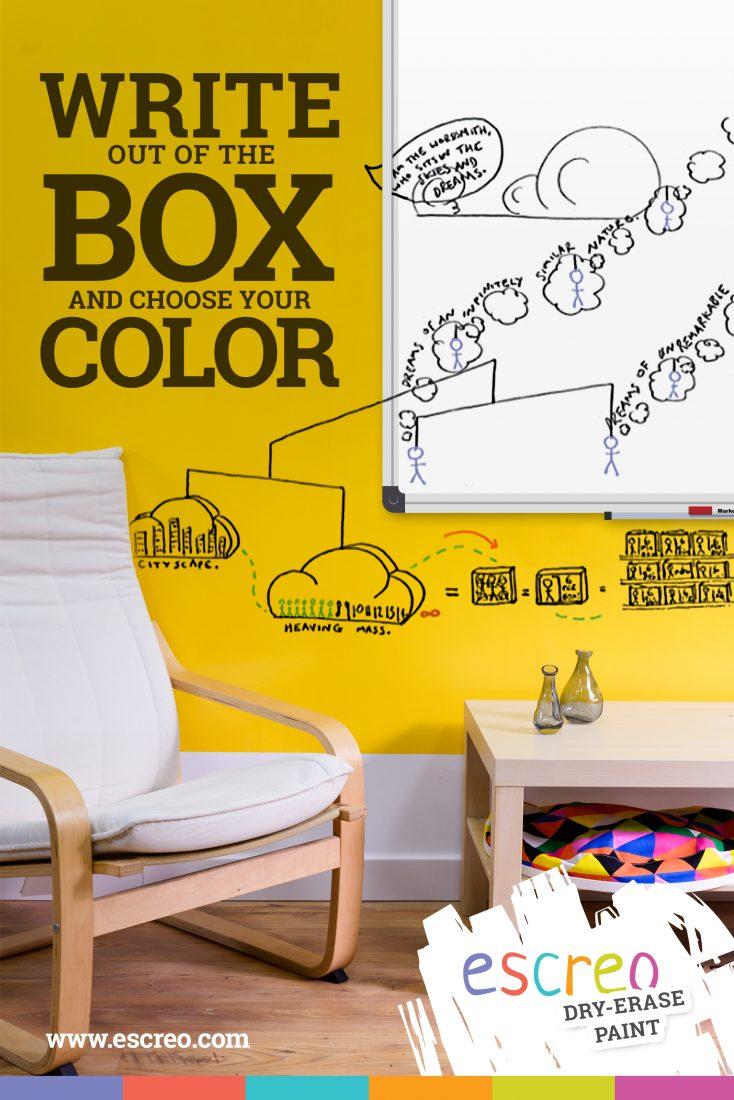 Whiteboard vs Escreo - choose innovation