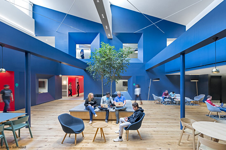 The 7 best office design ideas to increase workplace for Office design productivity research