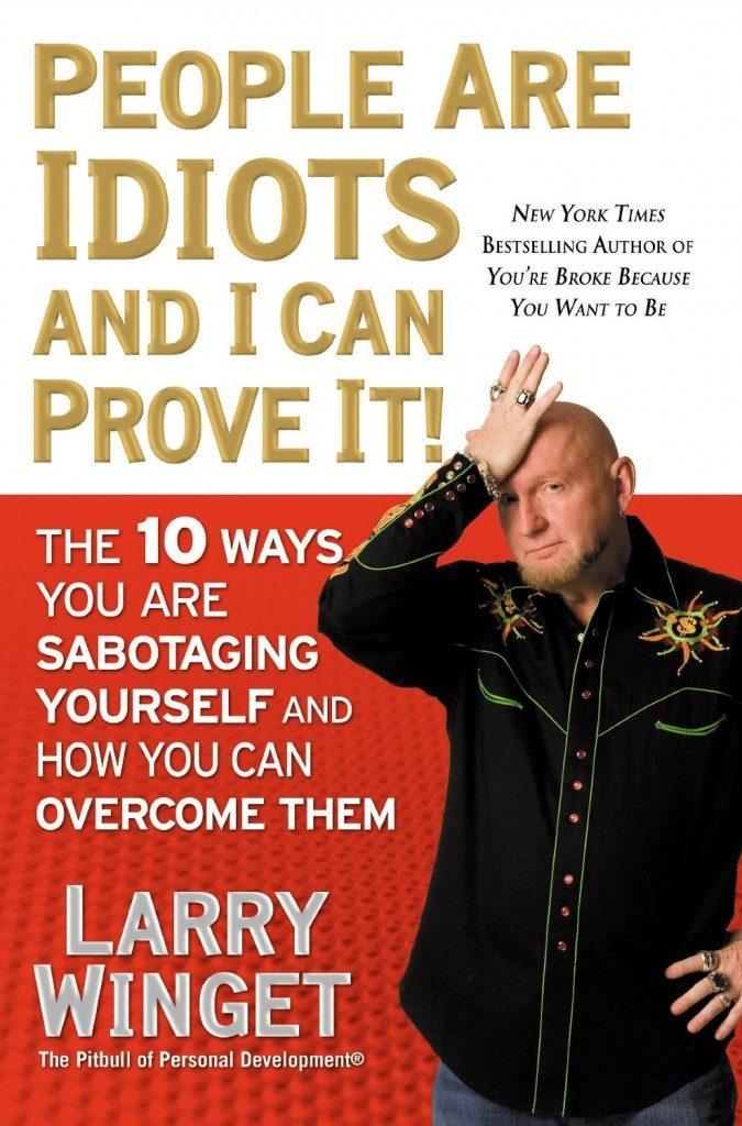 Корица на книгата на Лари Уингет