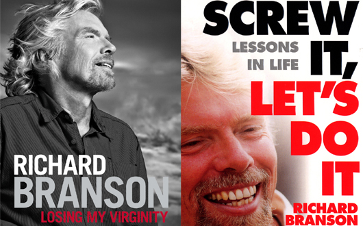 Book cover for Richard Branson