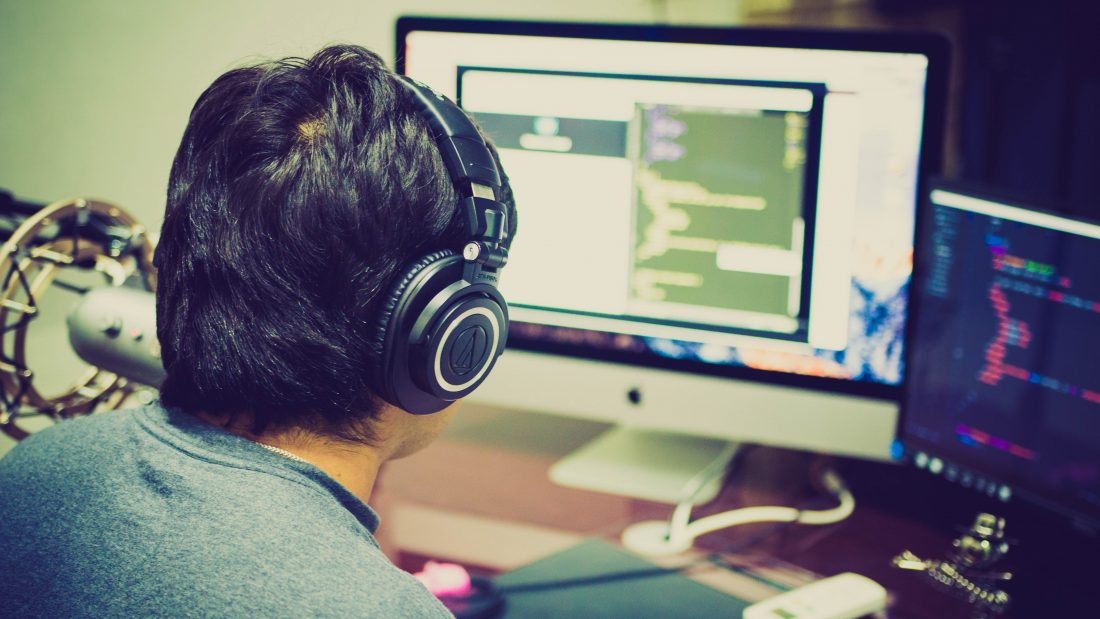 Where does the programmer find his place in the office?