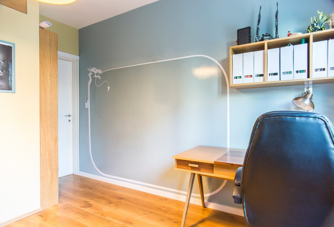 colorful dry erase wall
